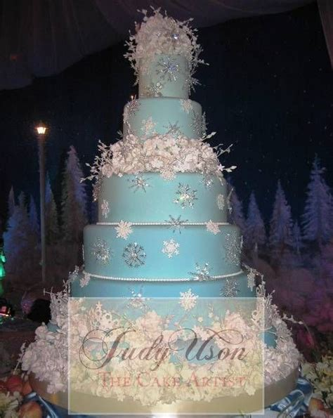 winter themed quinceanera cakes quinceanera winter wonderland theme images judy uson