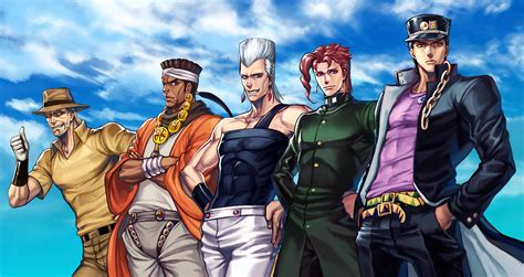 stardust crusaders photo collection stardust crusaders wallpaper