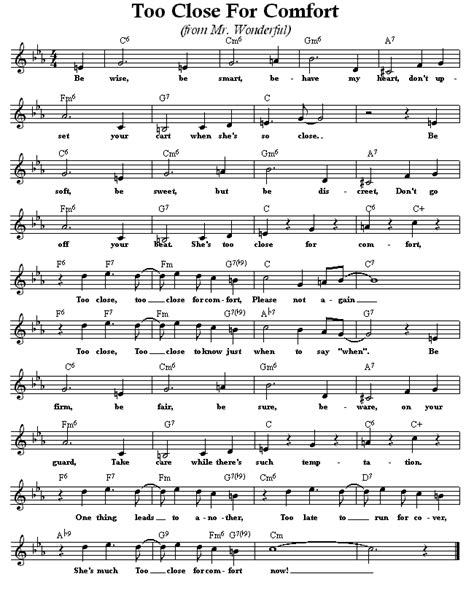 too close for comfort lyrics repertoire lyrics t