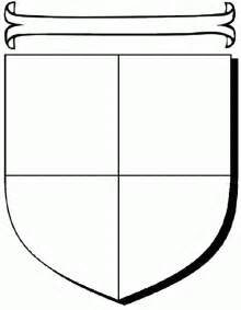 blank family crest template cliparts co