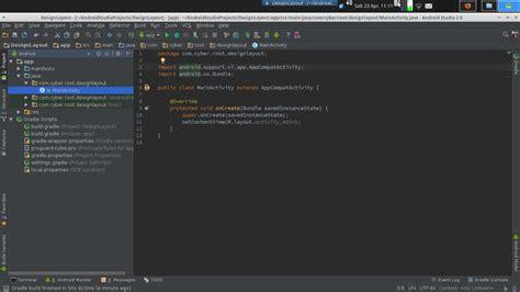 membuat layout menu android membuat design layout tilan android studio menarik