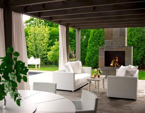 covered patio with fireplace outdoor fireplace the patio experts
