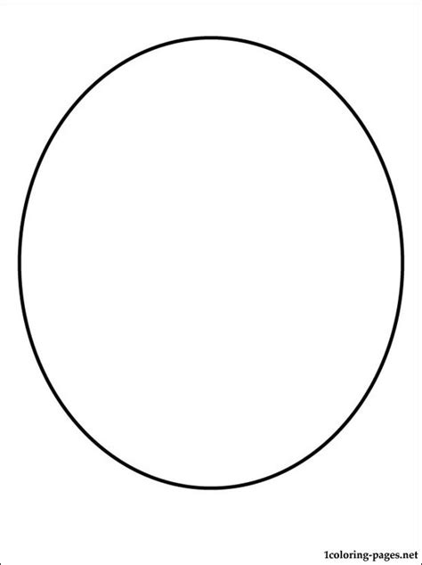 oval face shapes coloring page free coloring pages of free oval