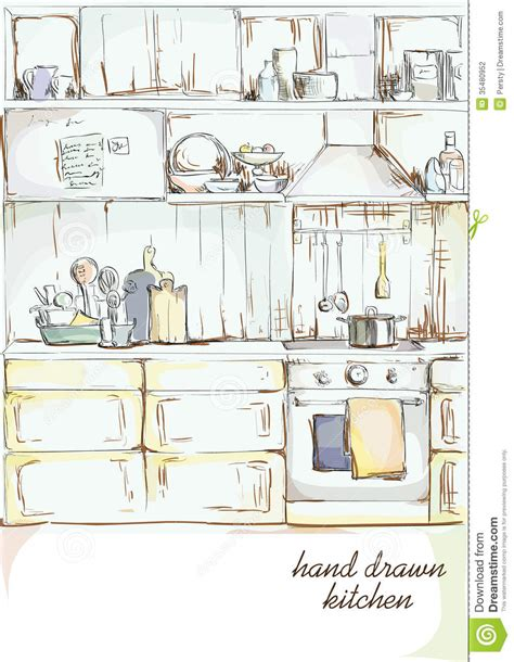 kitchen interior stock photography image