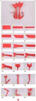 Cat Origami Tutorial - how to make cat origami diy crafts how