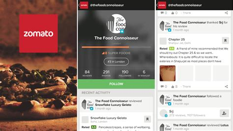 blogger zomato restaurant finder app zomato fully reved with new