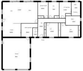 plan construction de en u plans maisons