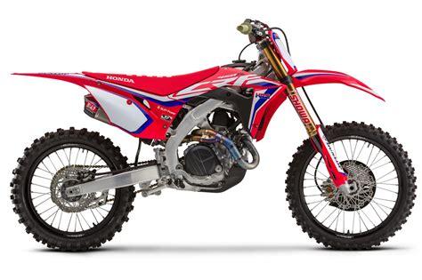 Honda Motocross 2020 by 2020 Honda Crf450r Crf450rwe And Crf450rx Look 11