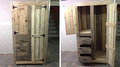 Armoire Palette 22 meubles 224 faire avec des palettes en bois