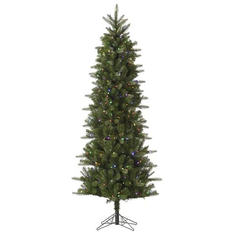 9 foot carolina pencil spruce christmas tree multi color