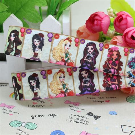 After High Decorations by 7 8 Free Shipping After High Printed Grosgrain