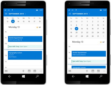 make calendar default samsung galaxy s3 this is how the windows 10 phone interface looks like