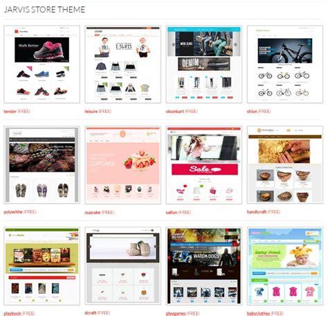 template toko online versi mobile jualan online di jarvis store aja putri chairina