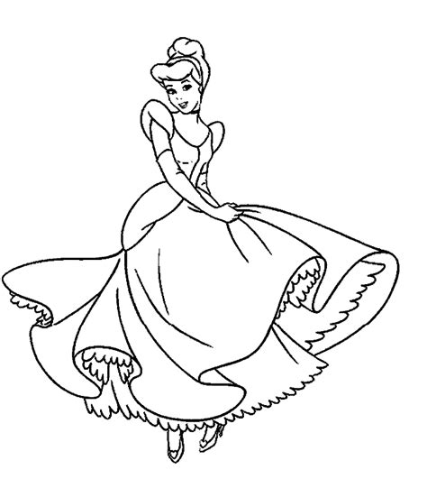 coloring page princess printable free coloring pages disney princess coloring pages