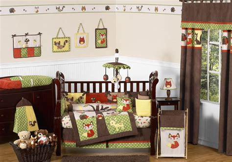 Forest Friends Crib Bedding Sweet Jojo Designs Forest Friends Collection 9pc Crib Bedding Set Baby Baby Bedding Baby