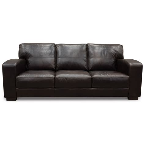 contemporary brown leather sofa contemporary brown leather