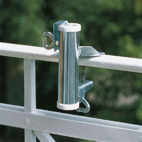 sonnenschirm balkon halterung sonnenschirmhalter balkon handlauf videx 174 verzinkt