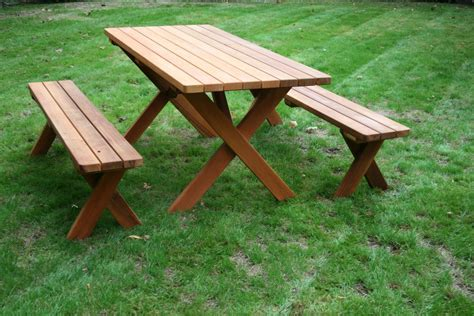 cedar picnic table seattle cedar