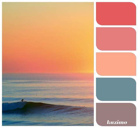 sunset color sunset color palette color inspiration