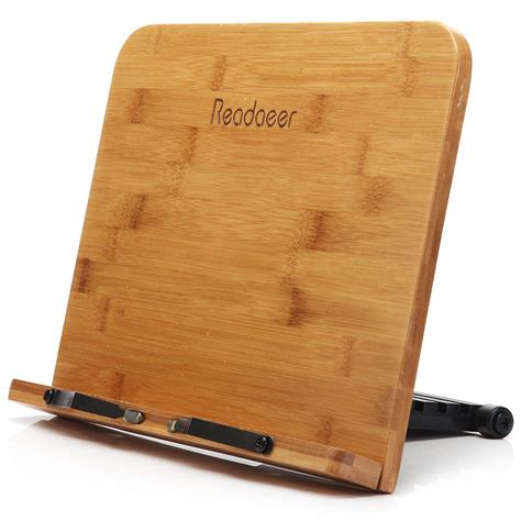 Do Stands For by Readaeer 174 Bamboo Reading Rest Cookbook Cook Book Stand
