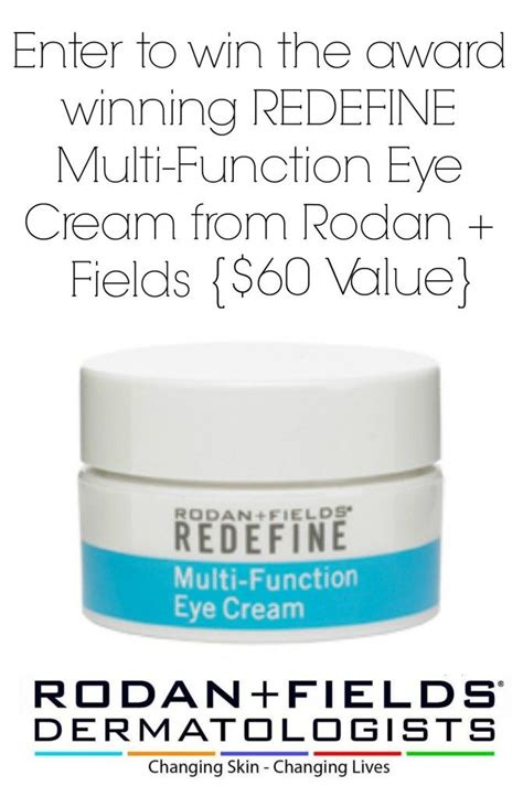 Win Our Giveaway by Rodan Fields Giveaway Win The Redefine Multi Function