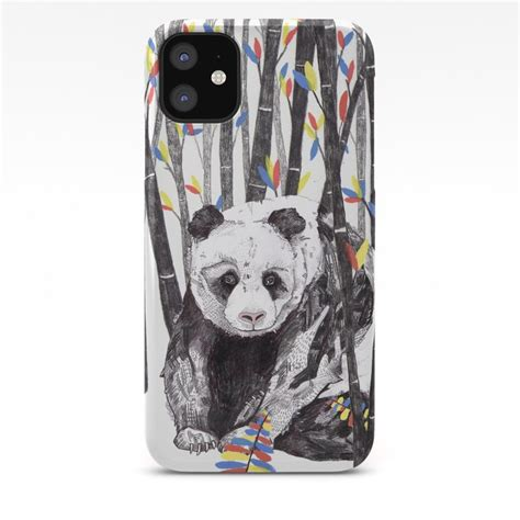 panda bear endangered animals iphone case