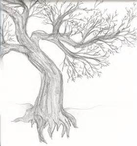 How To Draw A Tree Psikotes Gnarled Tree Sketch By Sweet Briar On Deviantart