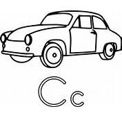 C Is For Car Clip Art At Clkercom  Vector