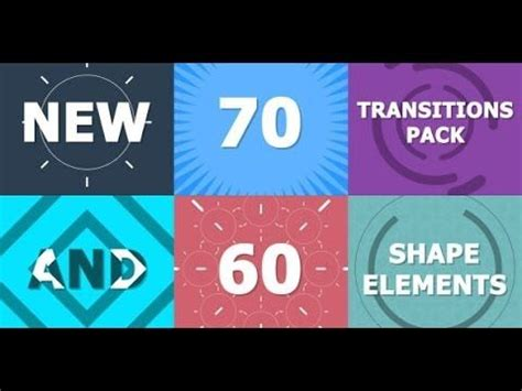 tutorial after effects transitions 70 transitions pack after effects template youtube