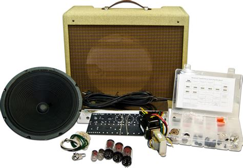 guitar speaker cabinet kits mojotone tweed deluxe style amplifier kit mojotone com