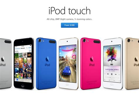 ipod touch 6 colors ipod 6 colors ipod touch 6