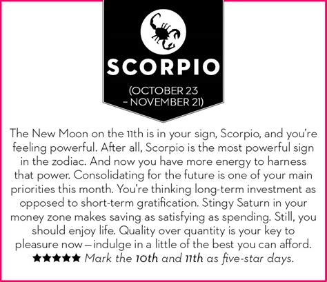 get your november 2015 horoscope chatelaine