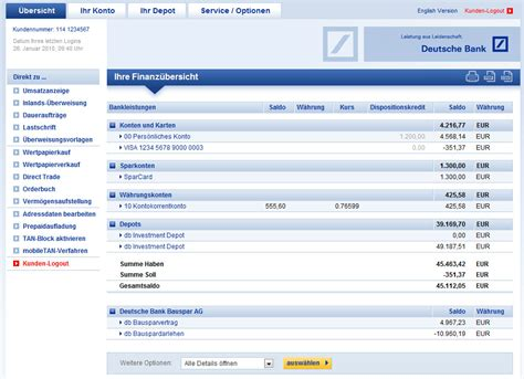 Deutsche Bank Banking Web App Chip