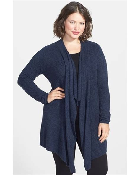 barefoot dreams bamboo chic drape front cardigan barefoot dreams 174 barefoot dreams drape front cardigan in