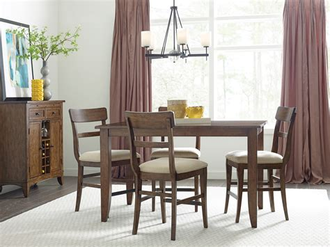 maple dining room furniture the nook maple 60 quot counter height dining room set from