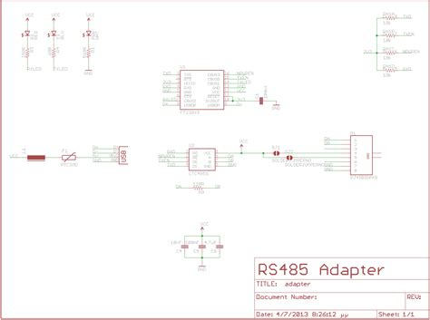 usb  rs adapter electronics lab