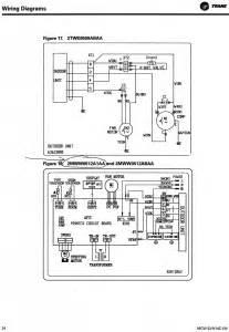 trane wiring diagrams model 2ttr2048a1000aa trane free
