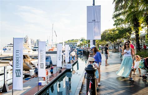 yacht show photos singapore yacht show 2017 concludes with over
