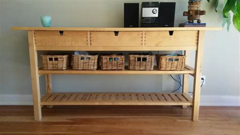 Ikea Hack Kitchen Island by 25 Ways To Use And Hack Ikea Norden Buffet Digsdigs