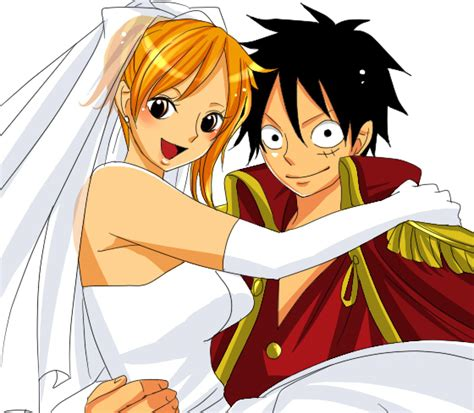 luffy and nami doodllecake images luffy and nami get married