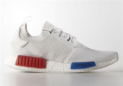 adidas nmd  primeknit og  white   release date sneakernewscom