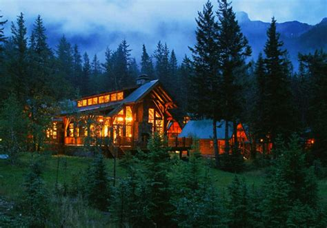 Alberta Comfort Camping Travel Article Best Cabins In The Canadian Rockies