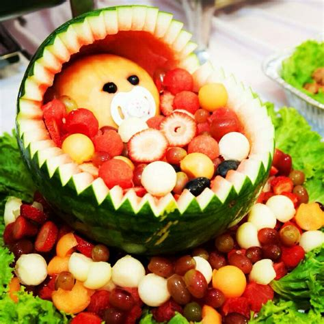 Baby Shower Watermelon by Watermelon Baby Carriage Creation Babies Baby Carriage And Watermelon Baby