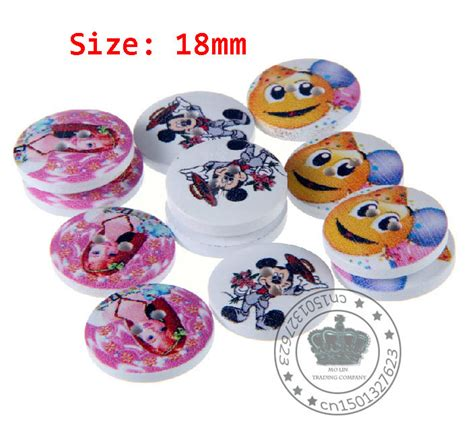 Handmade Buttons For Clothing - 30 pcs character high wooden handmade buttons