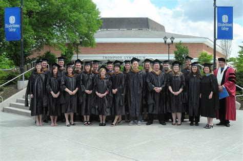 Etown Mba by E Town Now Inaugural Masters Of Business Administration
