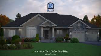 Custom Design House Plans Custom Home House Plans House Plans Patio Home Bungalow