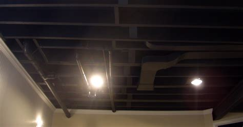 exposed basement ceiling exposed basement ceiling easy home decorating ideas