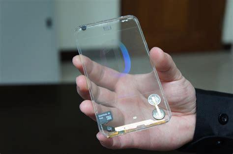 Touchscreen Polytron R1500 1 polytron creates world s transparent mobile phone