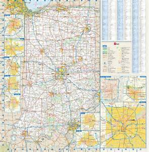 Indiana State Map by Indiana State Map With Counties Quotes