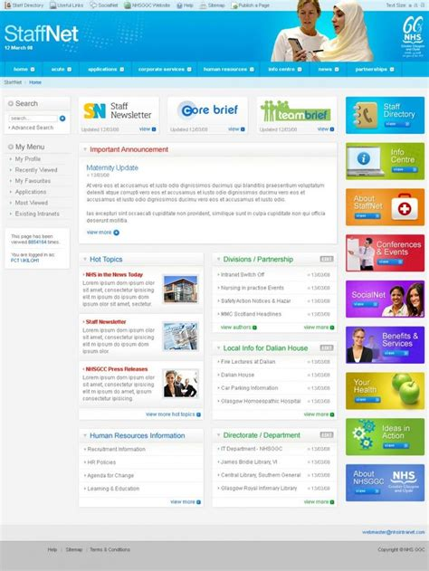 45 Best Images About Intranet Homepage Exles On Pinterest For D Behance And Exles Best Sharepoint Templates